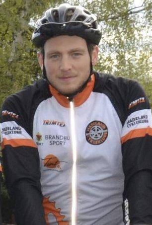 UTSLITT: Andreas Sollie Woie fortalte at HCK-rytterne gikk på en skikkelig smell noen mil før mål i Oslo.