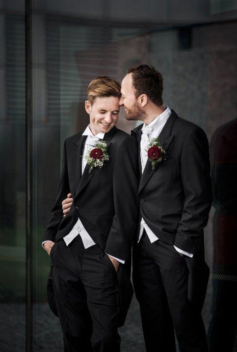 VI TO FOR ALLTID: Hovde fikk dessuten hederlig omtale for dette bildet med tittelen «Vi to for alltid»