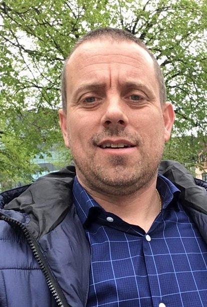 Bjørn Druglimo. Verneombud i politiet.