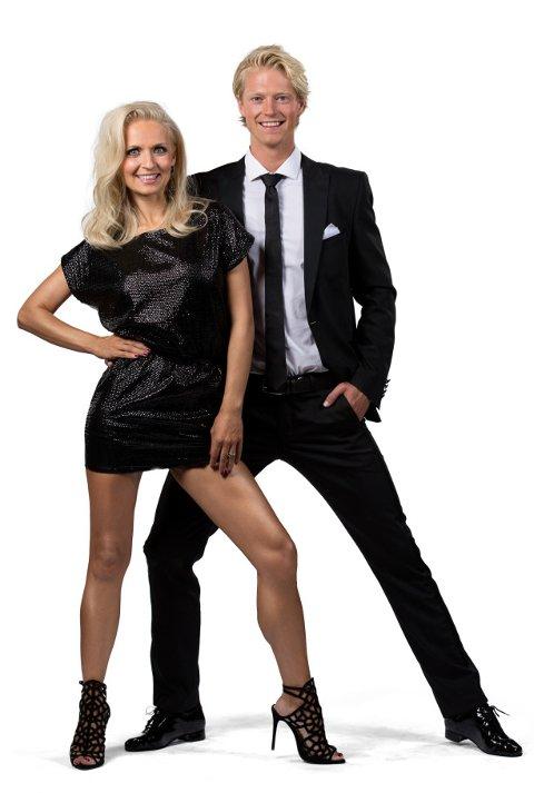 TV-DANS: Elegante Nadya Khamitskaya skal være partneren til Eilev Bjerkerud utover høsten.