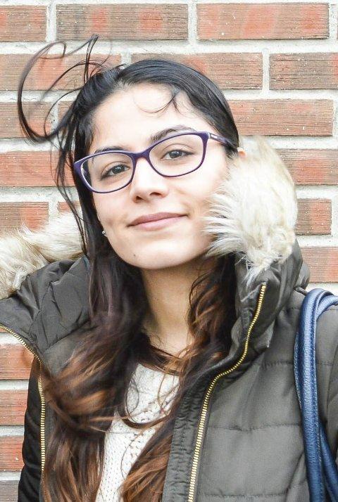 FRA HALDEN: Nadia Ghaderi Zanwer.