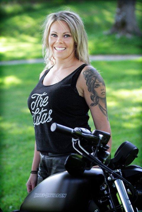 Den motorsykkelinteresserte kvinnen fra Håbafjell var med å danne den første norske utgaven av The Litas.