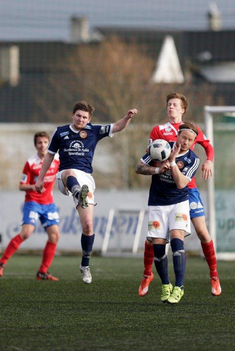 SCORET: Jan Inge Haringstad scoret ett av Åkras mål og var lagets beste spiller da de spilte 2-2 borte mot serieleder Staal Jørpeland. Arkivfoto.
