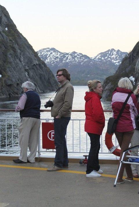 Trollfjord: Det blir også konsert i Trollfjord.Foto: Hugo Johansen