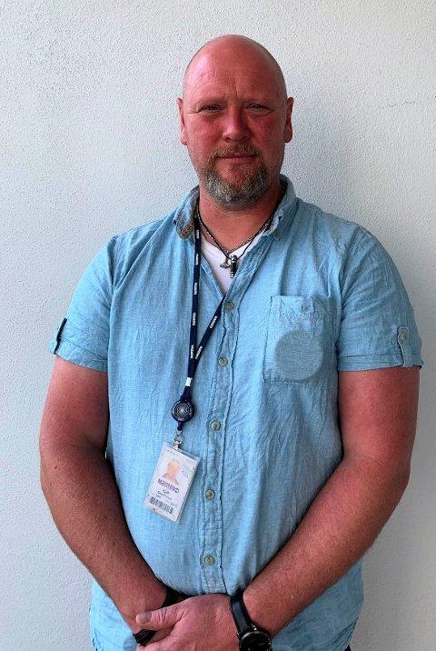 OPPFORDRER: Kjell Smedsrud, nestleder i Fellesforbundet Raufoss jern og metall, oppfordrer sine medlemmer til å komme med forslag.