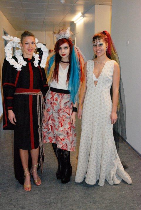SPENSTIG DESIGN: F.v. Linda Jeanette Berger, Sara Petrovic og Tonje Horner.