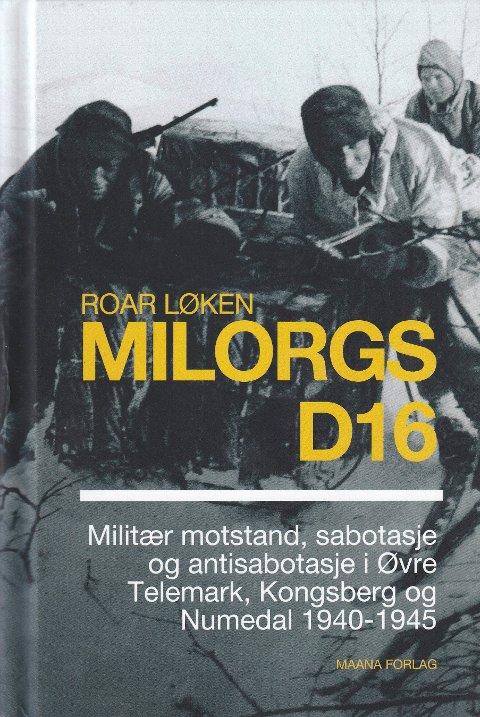 LOKALHISTORIE: Roar Løken kom nylig med denne boken. Torsdag holder han foredrag på Røde Kors-huset.