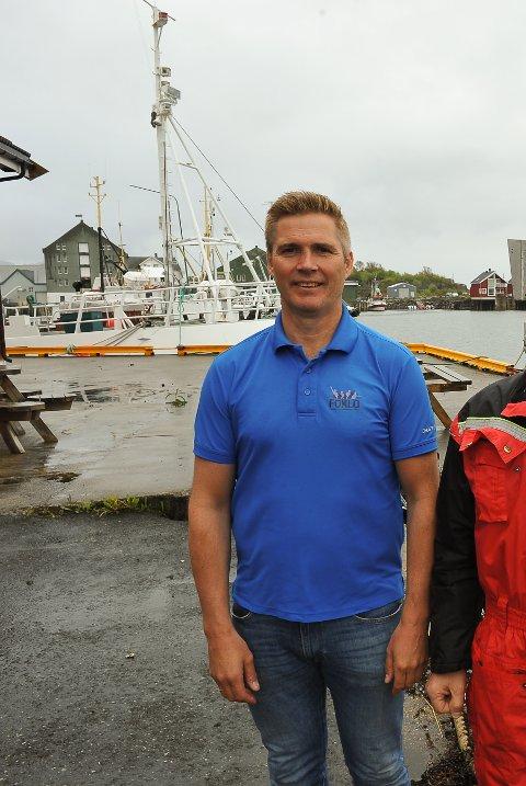 ANKER: Daglig leder i TenkLofoten AS, Sten Roger Sandnes, mener rekrutteringskurset for fiskearbeidere fortjener støtte fra Nordland fylkeskommune. Arkivfoto