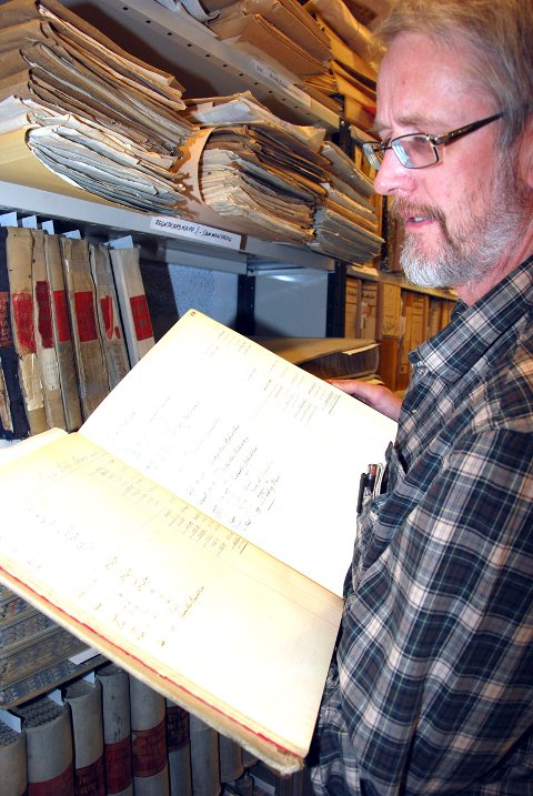 GOTISK TYDING: Arild  Alander er museumskonsulent på Musea i Nord-Østerdalen.