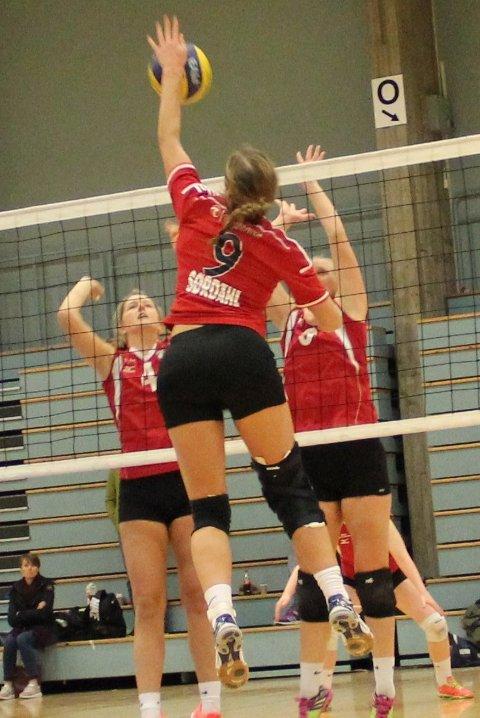 Det blir mange volleyballkamper i Øksneshallen når romjulsturneringen arrangeres 26. desember. (Arkivfoto)