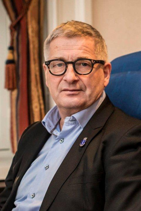 GIR SEG: Tore Opdal Hansen er sittende Høyre-ordfører i Drammen. Han stiller ikke på listen til valget i Nye Drammen neste høst.