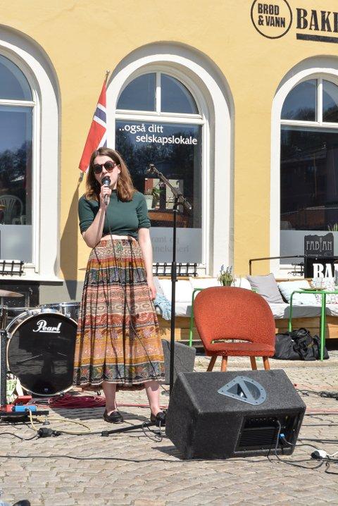 FIKK STØTTE: Monne Stang Møller får 40.000 kroner i støtte til å gi ut CD, til tross for at rådmanenn innstilte på å avslå søknaden.