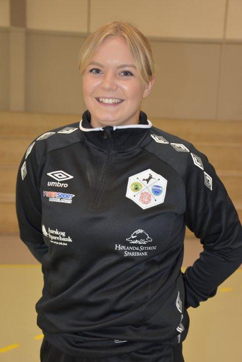 Bakspiller Amalie Moseby sørget for sju spillemål i serieåpningen, men det ble likevel tap borte mot Kjelsås. Tirsdag kveld venter Ammerud i Hølandshallen. Foto: Trym Helbostad