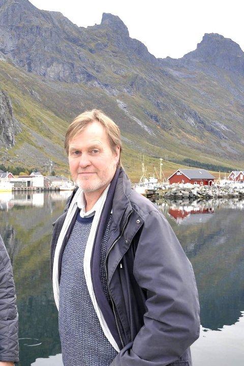 ELEKTRIFISERING: Kurt Atle Hansen har i et år jobbet med klimasatsing i kystflåten med base i Flakstad. Nå skal Lofotkraft Muligheter AS ta prosjektet noen steg videre.