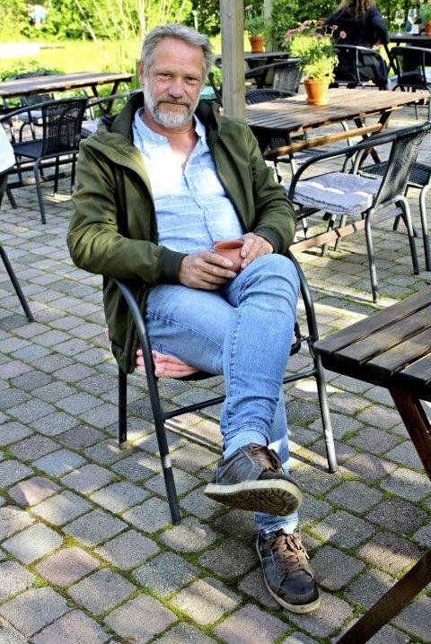I barndommens rike: Arnt Martin Brynildsen har mange gode minner fra Veierland. Nå har han flyttet til andre siden av Oslofjorden. Foto: Tove Pharo Ronde