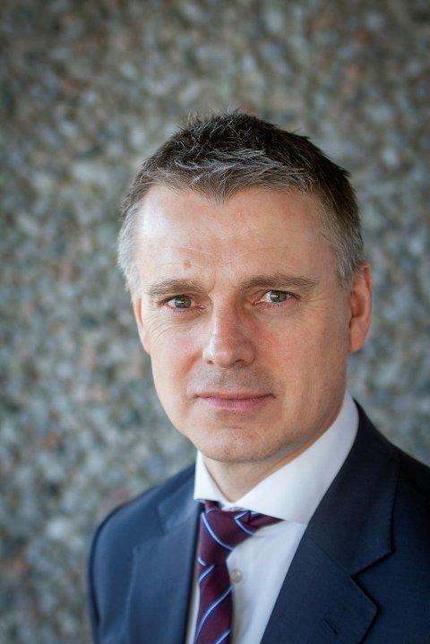 NVE SJEFEN: Vassdrags- og energidirektør Kjetil Lund i Norges vassdrags- og energidirektorat (NVE)