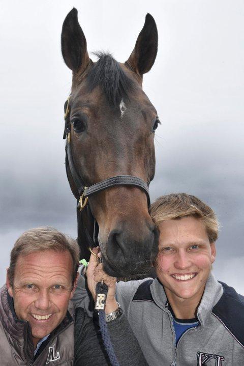 TO GULLIKSEN: Far og sønn, Geir Gulliksen og Johan Sebastian Gulliksen, utgjør halve det norske laget til fredagens nasjonshopping.