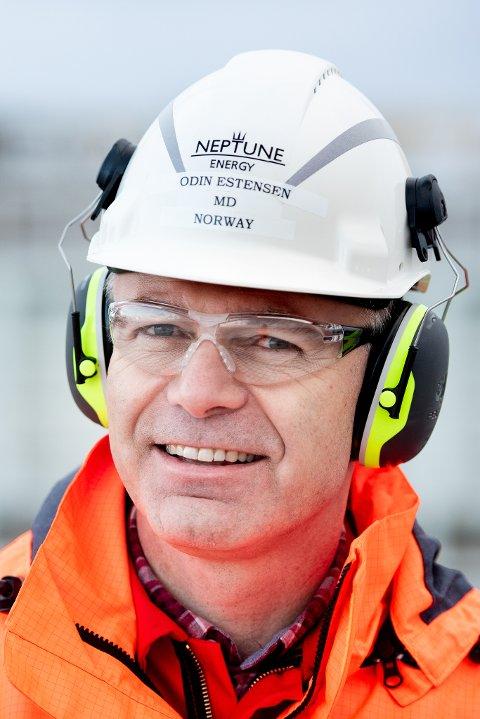 administrerende direktør Odin Estensen i Neptune Energy Norge.