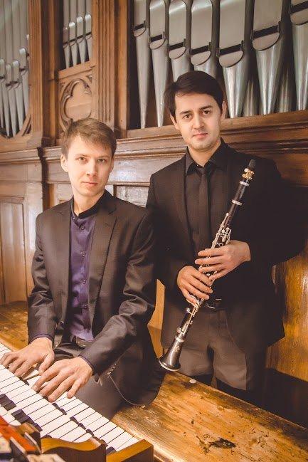 Duoen Clarinet and Organ består av de to musikerne Yegor Kolesov (orgel) fra st. Petesburg og Ruslan Shmelkov (klarinett) fra Moskva.
