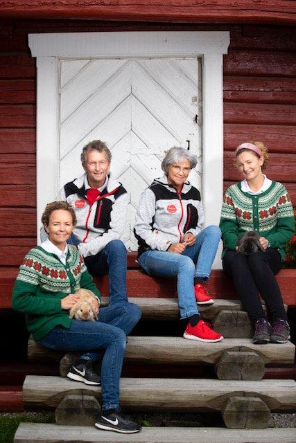 Vant pris: Familiedrevne Skarstad gartneri og gårdsmarked fikk Bedriftsutviklingsprisen i Landbruket for Hedmark.