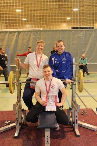NM-GULL: Maria Birkeli tok gull og Henrik Staal bronse, mens det ble sjetteplass på Frode Westby.