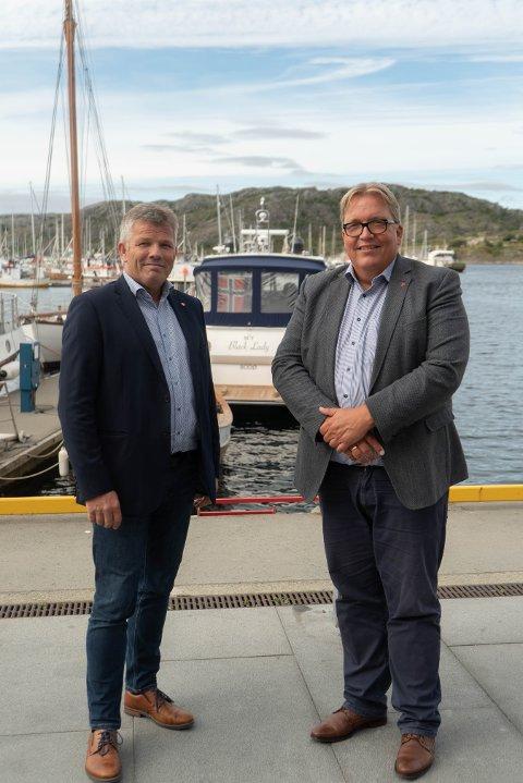 Uholdbart: - Det er uholdbart at enkelte parseller gjenstår på Sør-Helgeland, mener Bjørnar Skjæran og Sverre Myrlig.