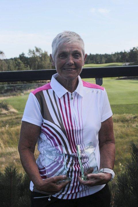 Beste kvinne: Marit Strømme vant etter omspill.