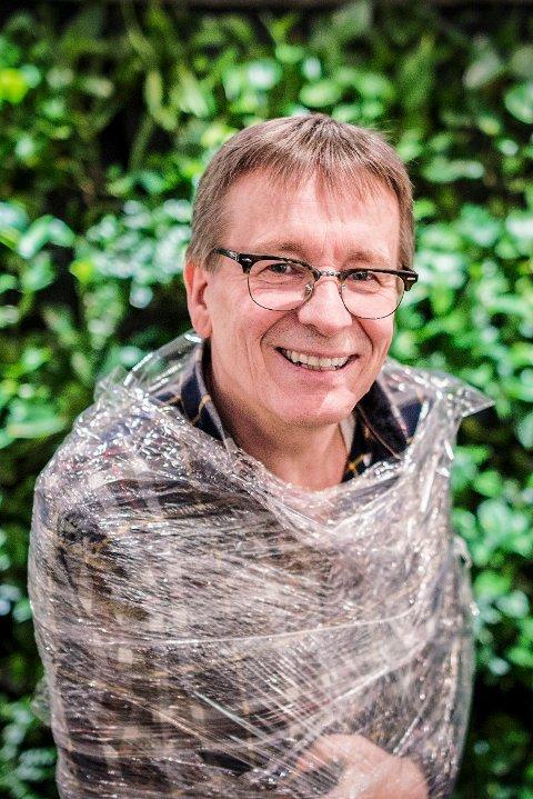 PLAST: - Vi driter bokstavelig talt i vårt eget matfat. Og vi aner ikke konsekvensene av det, sier Geir Wing Gabrielsen.