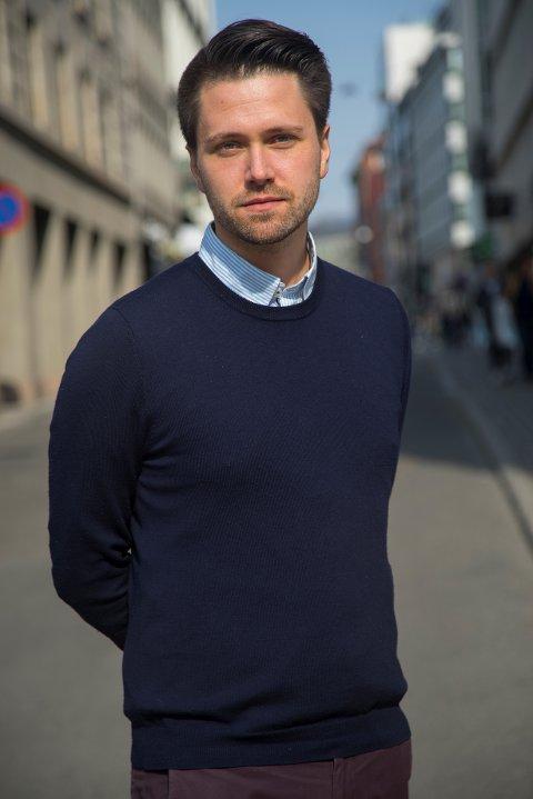 FRP-KANDIDAT: Bjørn-Kristian Svendsrud