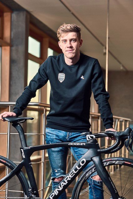PROFFSYKLIST: I januar reiser Kristian Aasvold (26) på sin første samling med det amerikanske profflaget Rally Cycling.