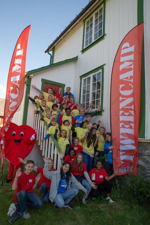 40 elever: Rundt 40 elever var med på ''Tween Camp'' som ble arrangert på prestegarden i Vestre Slidre forrige helg.