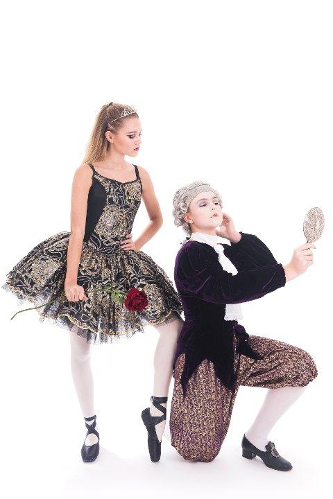 Ballett: Nesodden ballettskole imponerer.
