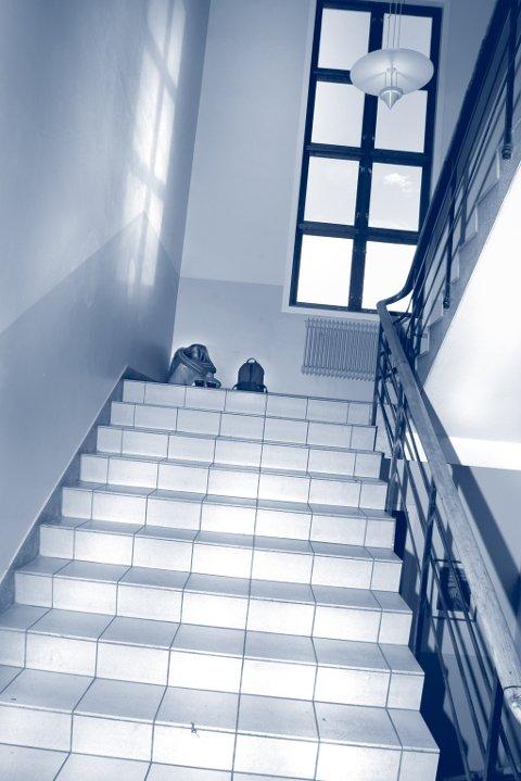 Angst: - Jeg har hatt angst for å gå opp og ned trapper, skriver Berit Marie Olsen. Ill.bilde: NTB.