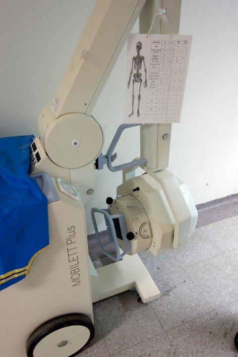 MOBILT: Det er et mobilt røntgenapparat Sirdal kommune har gått til anskaffelse av.