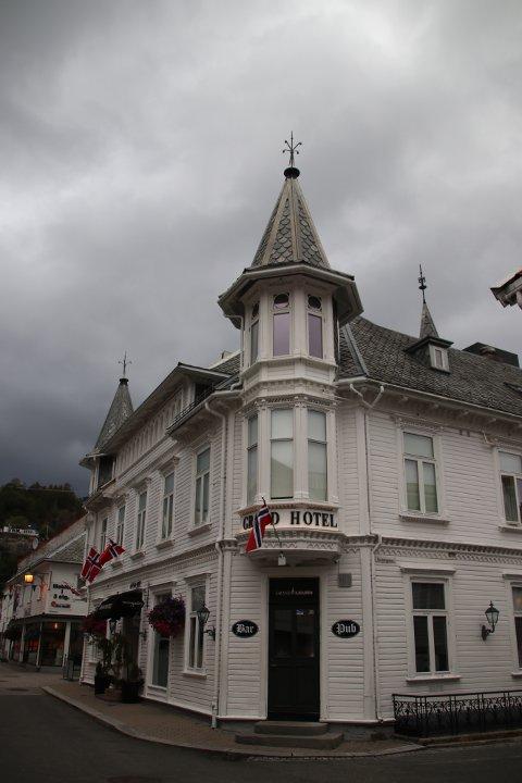 GOD KARAKTER: Grand Hotell får god karakter av Mattilsynet, men at personaltoalett er i tredje etasje synes ikke tilsynet er noen god løsning.