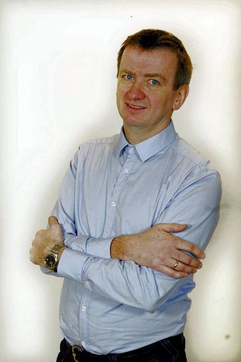 Hans Trygve Holm er redaktør i Avisa Nordland .