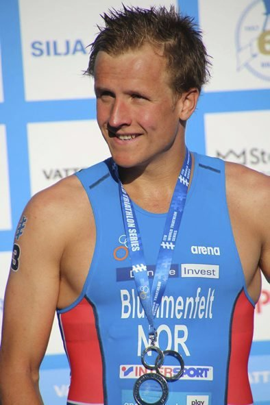 Bror: Kristian Blummenfelt er i verdenstoppen i triatlon.  Foto: Viviane Sloniewicz