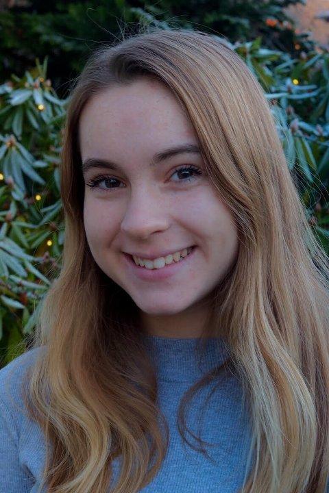 Nina Aarbakke Torvund går i 9. klasse ved Gimle skole.