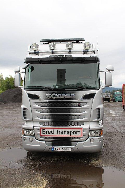 STJÅLET: Denne trekkvogna er stjålet fra Asfaltfres på Nedmarken.