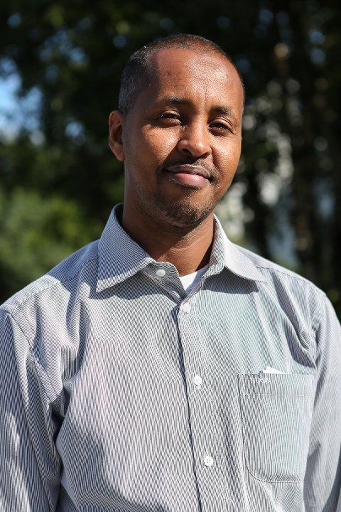Kongebesøk: Abdi Mohamed skal på besøk til Kong Harald i september