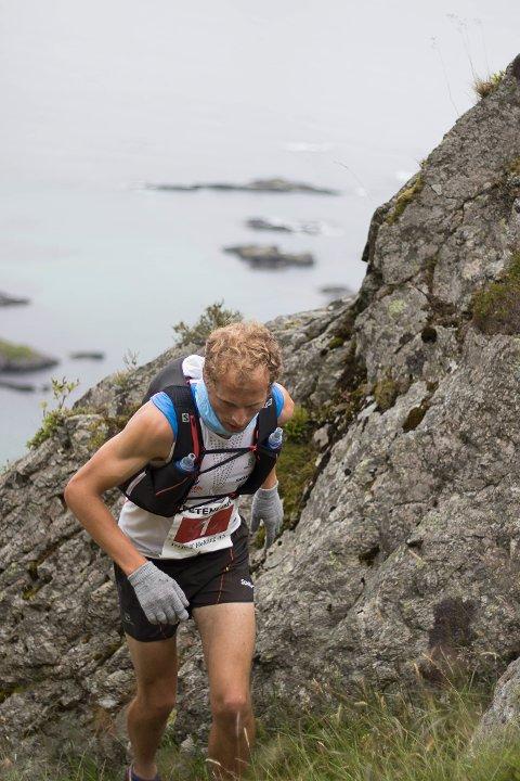Tre på rad: Ingen greidde å gjere noko med Thorbjørn Thorsen Ludvigsen som vann for tredje år på rad.