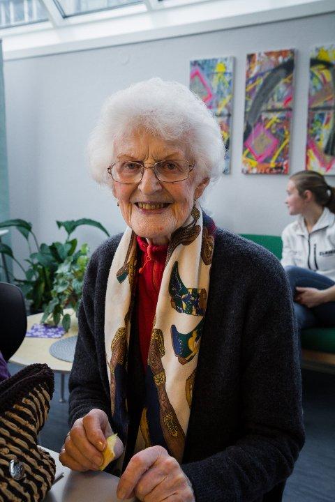 AKTIV: Elisabet Muri har fullt program kvar veke og meiner det er viktig for ei god helse.