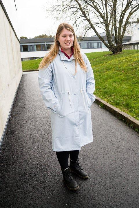 Lene Louise Madsen (17) frå Florø.