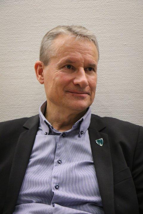 Olve Grotle er ordførar i Sunnfjord kommune