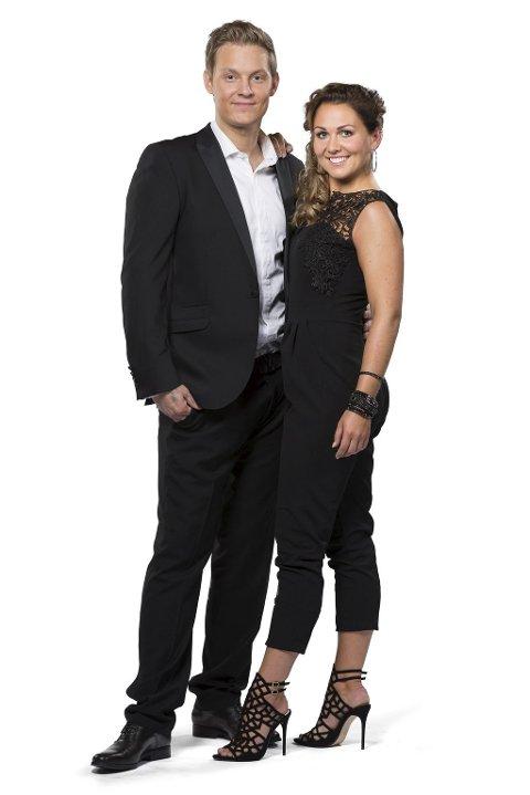 Danseklare: Petter «Katastrofe» Kristiansen (27) og Marianne Sandaker (28).Foto: Espen Solli/TV2