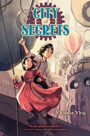 – City of Secrets av Victoria Ying er en fantastisk tegneserie for barn satt i en steampunk verden med luftballonger og fantastiske bygninger, skrive Elisabeth Reinertsen.