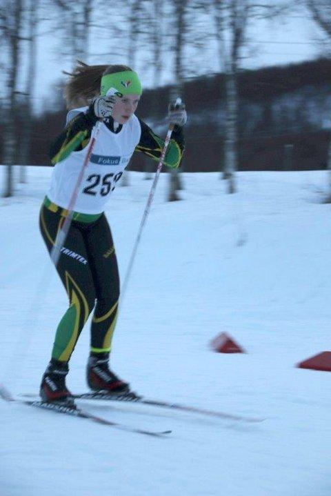 Eline Hansen fra Ballangen gikk inn til topp 50-plassering.