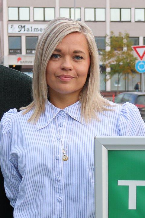 JUBLER: Lise Janita Hansen, daglig leder i Visit Narvik jubler over forslaget om å bygge en sherpatrapp i Narvik. Arkivfoto