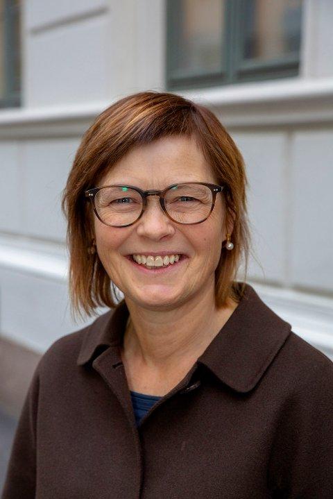 DIREKTØR: Elisabeth Ege i Akan kompetansesenter.