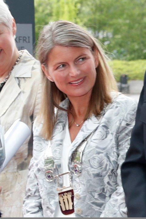 Mangler kjedet: Ordfører Lene Conradi (H) i Asker kommune.